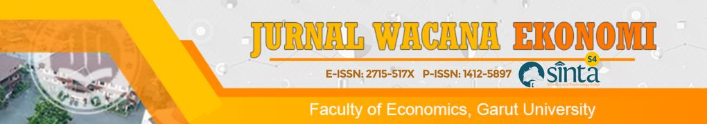 Jurnal Wacana Ekonomi: Faculty of Economics: Garut University